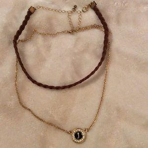 Jewelry - Costume Jewelry Choker & Necklace Set